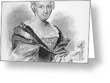 Anna Maria Sibylla Merian Greeting Card
