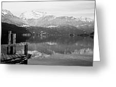 Annecy The Lake Greeting Card