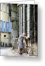 Another Nap.arles.france Greeting Card