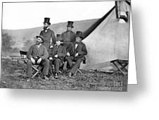 Antietam: Officials, 1862 Greeting Card
