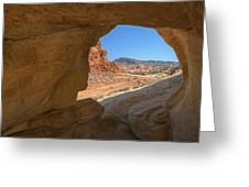 Arch Valley Of Fire Greeting Card