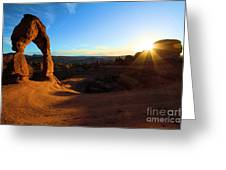 Arches Starburst Greeting Card