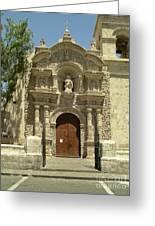 Arequipa Peru Greeting Card