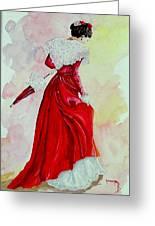 Arlesienne Greeting Card
