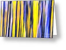 Art Abstract Work Greeting Card
