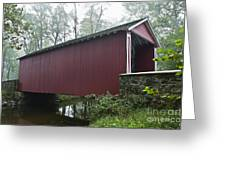 Ashland Covered Bridge Greeting Card