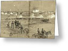 Assault On Petersburg Greeting Card