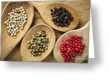 Assorted Peppercorns Greeting Card