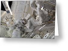 Astronaut Participates In A Session Greeting Card