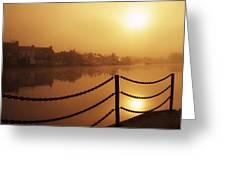 Athlone, County Westmeath, Ireland Dock Greeting Card