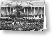 B. Harrison Inauguration Greeting Card