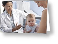 Baby Vaccination Greeting Card