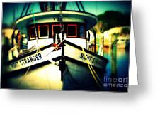 Back In The Harbor Greeting Card
