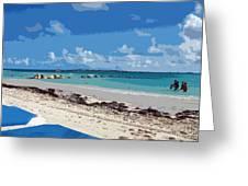 Bahamas Cruise To Nassau And Coco Cay Greeting Card