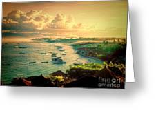 Bali Indonesia View Greeting Card
