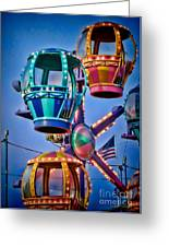 Balloon Ride No. 5 Greeting Card by Colleen Kammerer
