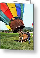 Balloonist - Ready For Takeoff Greeting Card