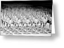 Banquet Glasses Greeting Card by Svetlana Sewell