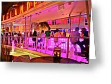 Bar On Oceandrive Greeting Card