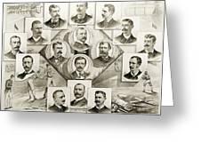 Baseball, 1894 Greeting Card