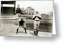 Baseball: Princeton, 1901 Greeting Card