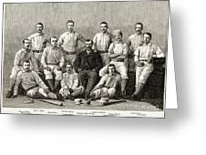 Baseball: Providence, 1882 Greeting Card