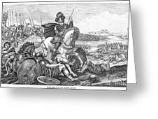 Battle Of Agincourt, 1415 Greeting Card