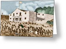 Battle Of The Alamo Greeting Card