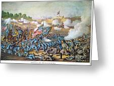 Battle Of Williamsburg Greeting Card