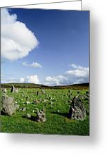 Beaghmore Stone Circles, Co. Tyrone Greeting Card