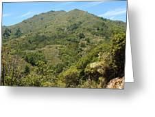 Beautiful Mount Tamalpais Greeting Card