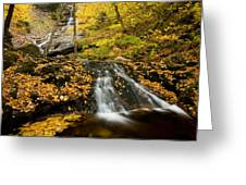 Beulach Ban Falls, Cape Breton Greeting Card