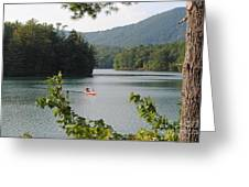 Big Canoe Greeting Card