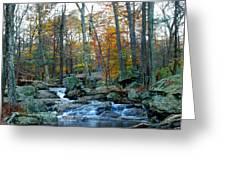 Big Hunting Creek Upstream From Cunningham Falls Greeting Card