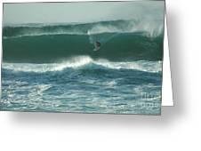 Big Surf Greeting Card