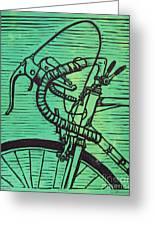 Bike 2 Greeting Card