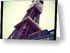 Blackpool Tower Greeting Card