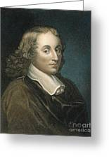 Blaise Pascal (1623-1662) Greeting Card