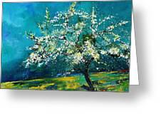 Blooming Appletree Greeting Card