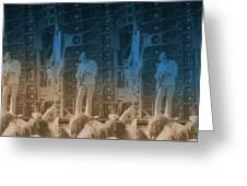 Bob Weir Grateful Dead 74 Dsm Ia Greeting Card