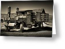 Bodie Gas Stop Greeting Card