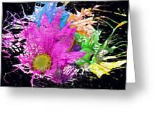 Boom Bloom Greeting Card