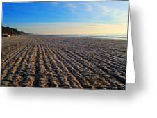 Bournemouth Beach Greeting Card