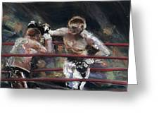 Boxers 1 Greeting Card