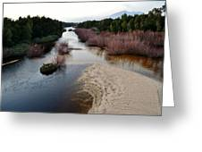 Breede River Greeting Card