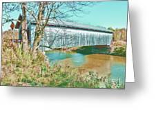 Bridge In Montgomery Greeting Card