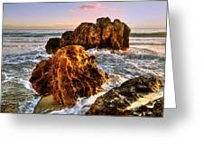 Brighton Beach Wa Greeting Card by Imagevixen Photography