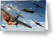 British Hawker Hurricane Aircraft Greeting Card
