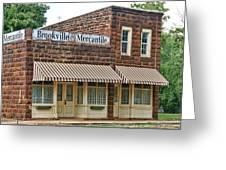 Brookville Mercantile Greeting Card