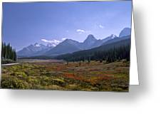 Bugaboo Valley Greeting Card